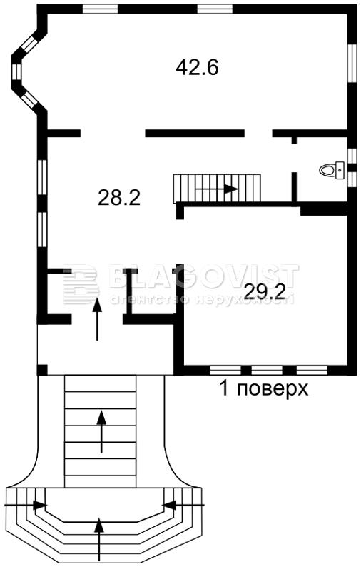 Дом M-37999, Пушкинская, Буча (город) - Фото 3