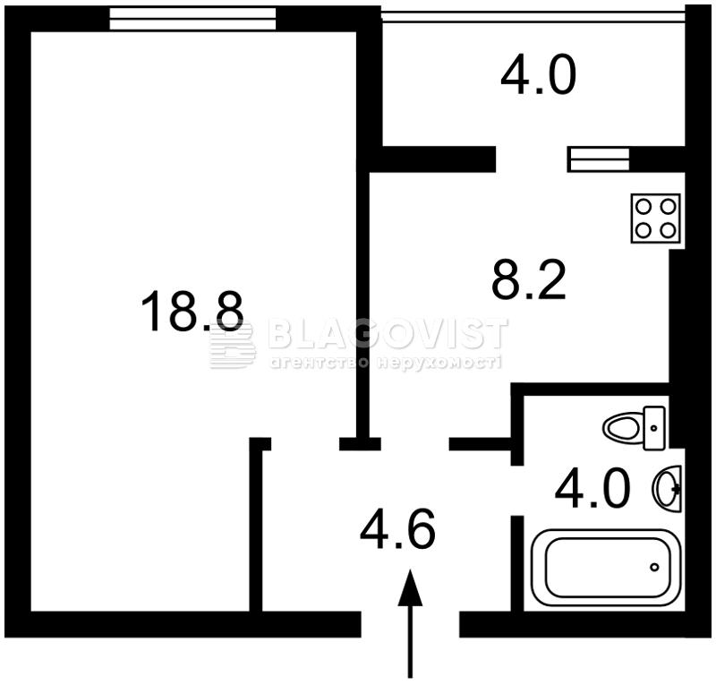 Квартира R-35601, Доковская, 10, Коцюбинское - Фото 3
