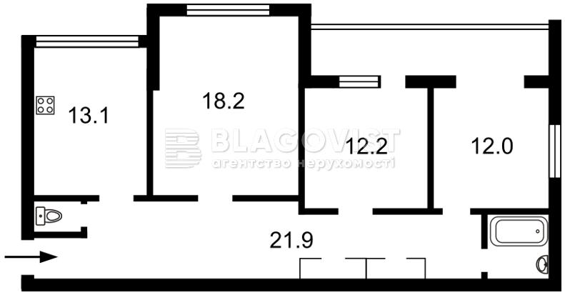 Квартира C-42813, Героев Сталинграда просп., 20а, Киев - Фото 7