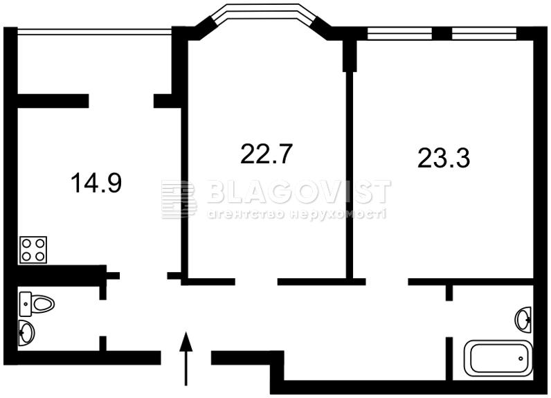 Квартира C-108232, Дегтярная, 21, Киев - Фото 3