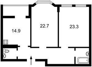 Квартира Дегтярна, 21, Київ, C-108232 - Фото2