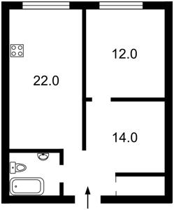 Квартира Деміївська, 18, Київ, Z-712408 - Фото2
