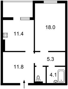 Квартира Балтійський пров., 23 корпус 2, Київ, H-48429 - Фото 2