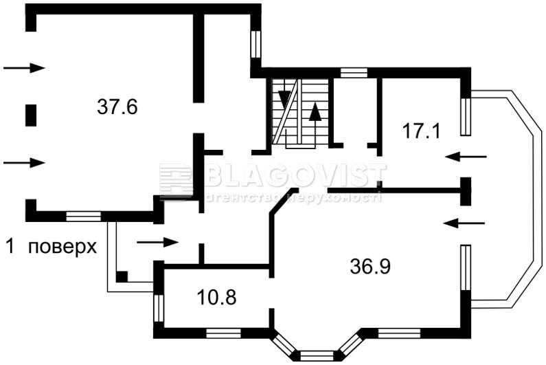 Дом H-48332, Гатное - Фото 2