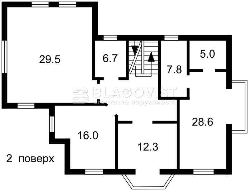 Дом H-48332, Гатное - Фото 3
