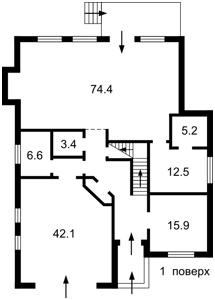 Дом Лебедевка (Вышгородский), R-35733 - Фото 2