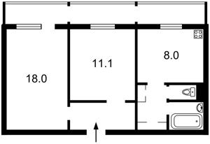 Квартира Светлицкого, 30/20, Киев, F-43942 - Фото 2