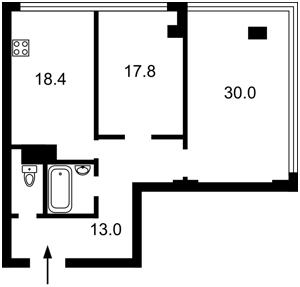 Квартира Жилянська, 68, Київ, Z-714712 - Фото2
