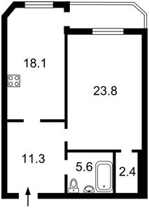 Квартира Героев Сталинграда просп., 55, Киев, Z-998734 - Фото2