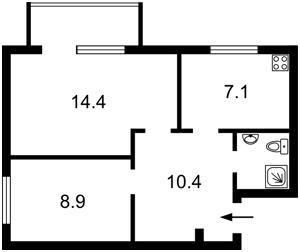Квартира Шовковична, 48, Київ, R-35828 - Фото2
