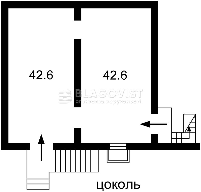 Нежилое помещение, Задорожный пер., Киев, Z-709332 - Фото 2