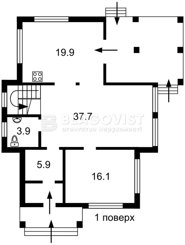 Будинок A-111447, Хотянівка - Фото 6