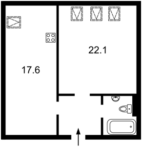 Квартира Московский пер., 2б, Киев, R-12804 - Фото2