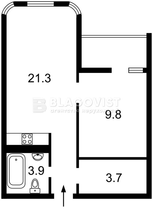 Квартира F-43985, Кирилівська (Фрунзе), 37, Київ - Фото 3