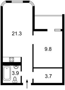 Квартира Кирилівська (Фрунзе), 37, Київ, F-43985 - Фото 2