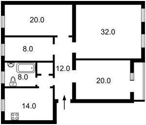 Квартира D-36679, Круглоуніверситетська, 18/2, Київ - Фото 3