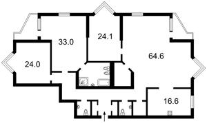 Квартира Коновальца Евгения (Щорса), 32г, Киев, M-37875 - Фото2