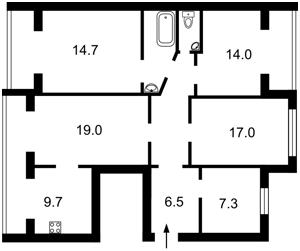 Нежилое помещение, Каштановая, Киев, A-111679 - Фото2