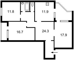 Квартира Z-650921, Пироговского Александра, 19/1, Киев - Фото 2