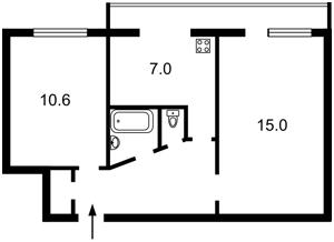 Квартира Плеханова, 4а, Київ, D-29551 - Фото 2