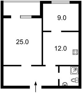 Квартира Героев Сталинграда просп., 47а, Киев, R-35769 - Фото2