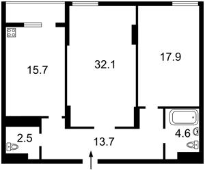 Квартира Мишуги Александра, 8, Киев, R-35986 - Фото2