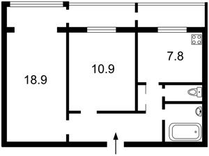 Квартира Вышгородская, 34/1, Киев, R-35795 - Фото 2