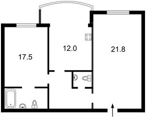 Квартира Героев Сталинграда просп., 10а, Киев, Z-718269 - Фото2