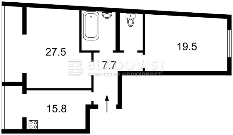 Квартира Z-716255, Академика Палладина просп., 18/30, Киев - Фото 3