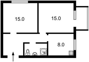 Квартира Мурашко Николая, 6, Киев, Z-661754 - Фото2