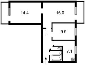 Квартира Волгоградская, 39, Киев, Z-716953 - Фото2