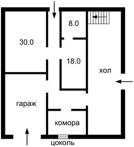 Дом Z-687098, Калиновка (Васильковский) - Фото 3