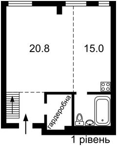 Квартира Регенераторная, 4 корпус 5, Киев, Z-706176 - Фото2