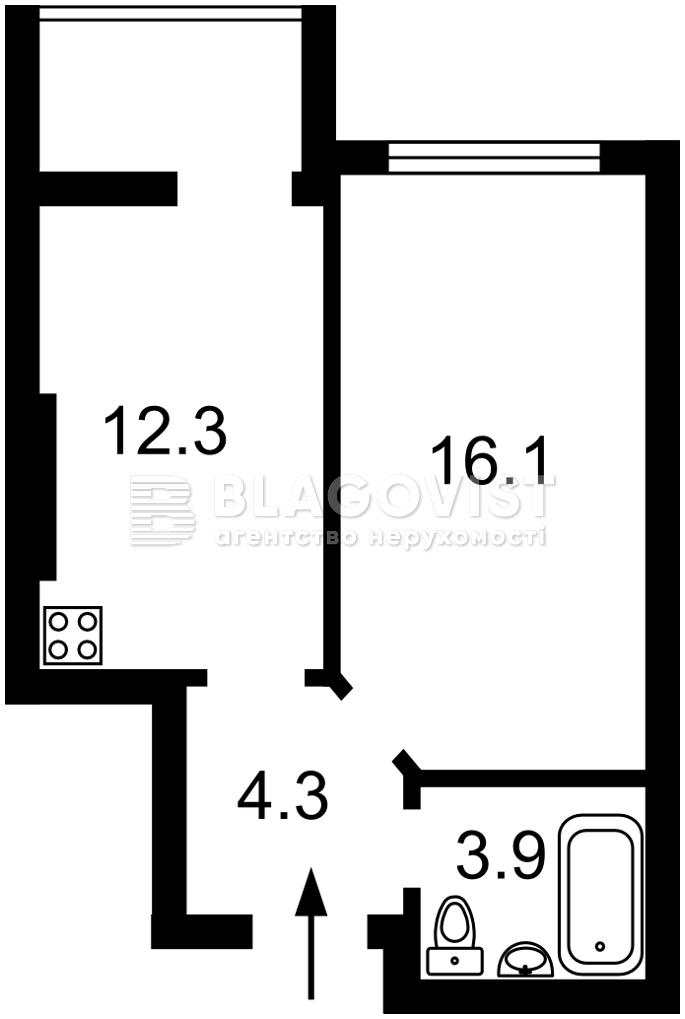 Квартира H-48675, Клеманська, 7 корпус 3, Київ - Фото 2