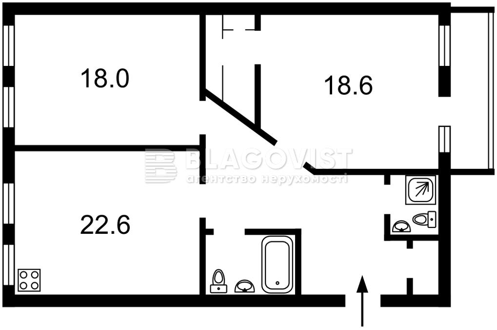 Квартира Z-719493, Волошская, 50/38, Киев - Фото 7