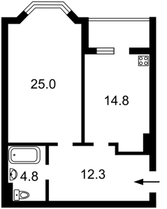 Квартира Z-721124, Герцена, 35, Киев - Фото 3