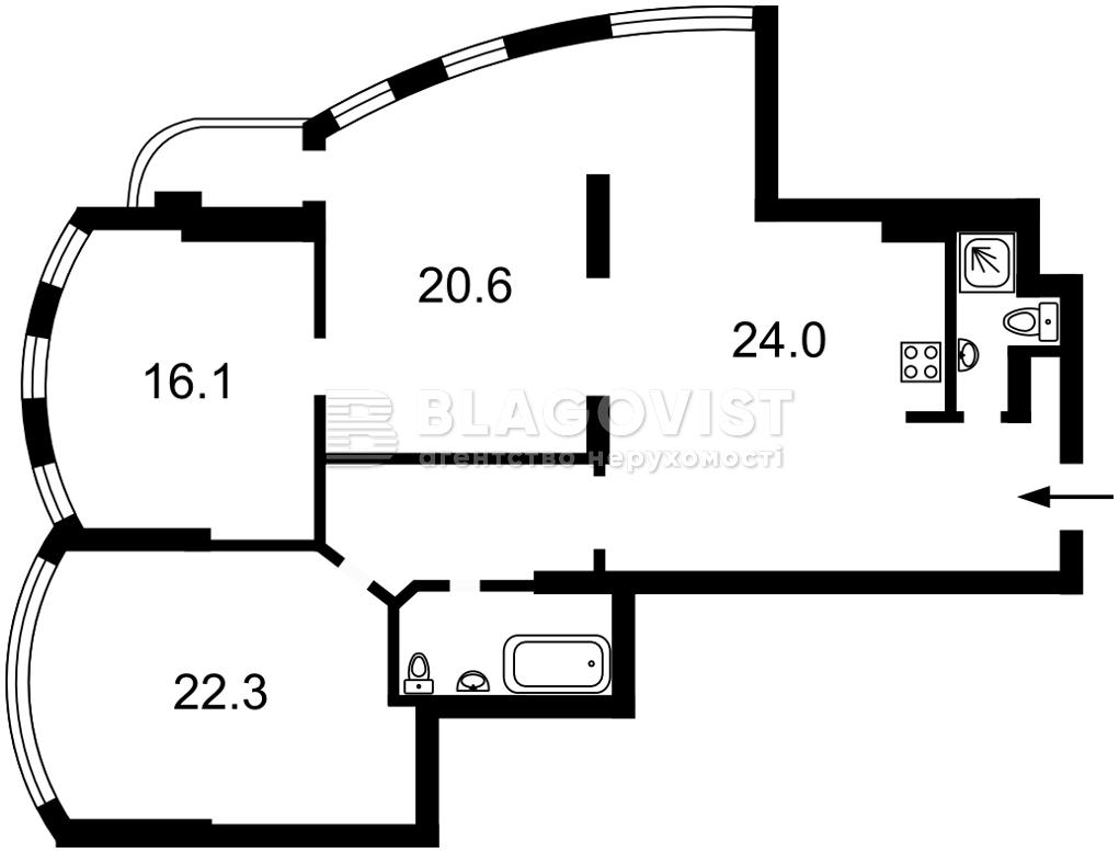 Квартира A-111714, Соборности просп. (Воссоединения), 30, Киев - Фото 5