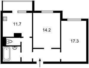 Квартира Максимовича Михаила (Трутенко Онуфрия), 7в, Киев, Z-720435 - Фото2