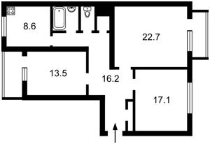 Квартира Леси Украинки бульв., 24, Киев, B-89830 - Фото 2