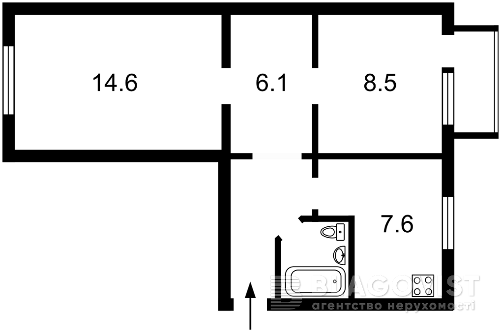 Квартира Z-1680899, Победы просп., 76, Киев - Фото 4
