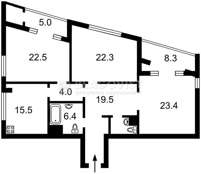 Квартира P-28993, Лейпцизька, 13а, Київ - Фото 4
