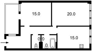 Квартира Спасская, 35, Киев, Z-724521 - Фото2