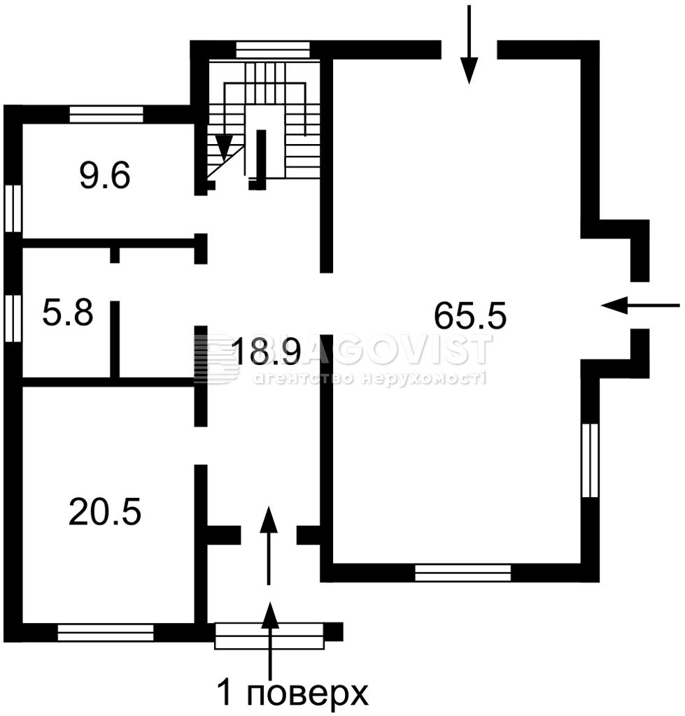 Дом F-44101, Набережная, Вишенки - Фото 4