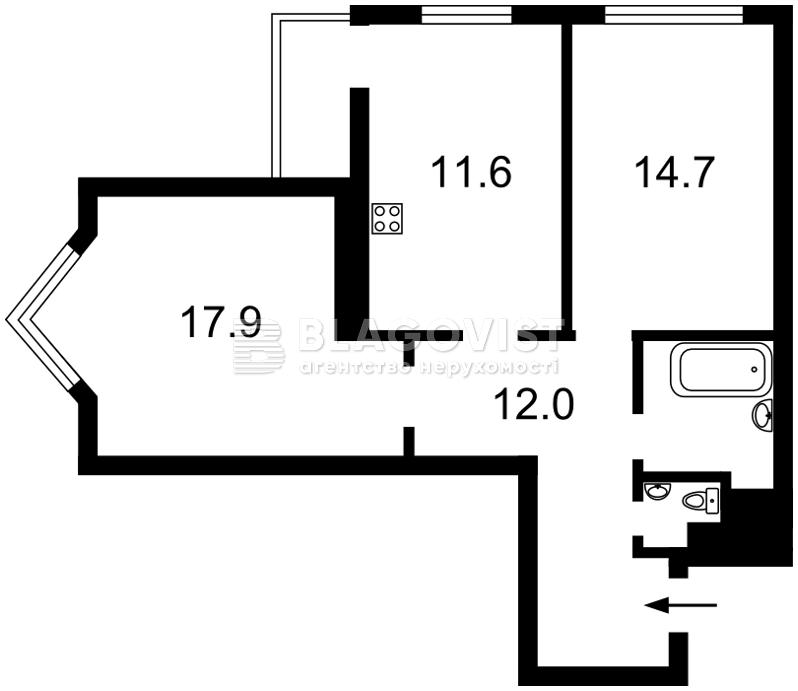 Квартира Z-684780, Воскресенська, 12б, Київ - Фото 5