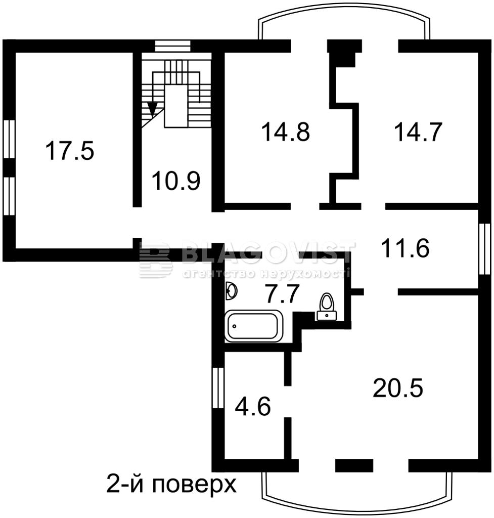Дом C-108471, Амосова, Святопетровское (Петровское) - Фото 3