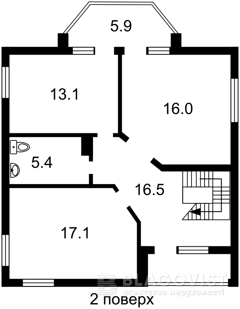 Дом Z-245448, Янтарная, Святопетровское (Петровское) - Фото 4