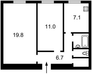 Квартира Большая Житомирская, 34, Киев, Z-722719 - Фото2