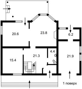 Дом Полевая, Новоселки (Вышгородский), R-4348 - Фото2
