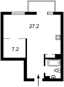 Квартира Паньковская, 20/82, Киев, Z-720992 - Фото2