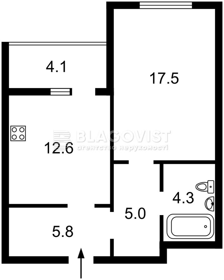 Квартира Z-651531, Ломоносова, 34б, Киев - Фото 4